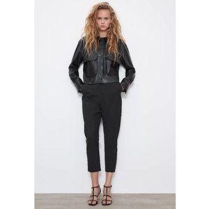 NWT Zara Size XS Black Baggy Pants